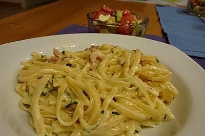 Spaghetti in Schinken-Sahne-Soße 6