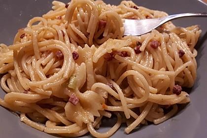 Spaghetti in Schinken-Sahne-Soße 28