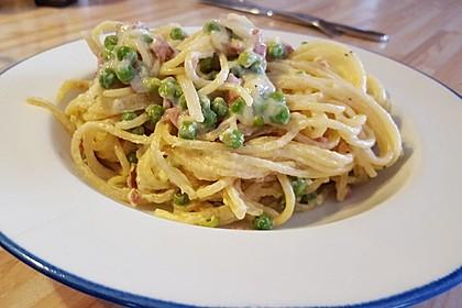 Spaghetti in Schinken-Sahne-Soße 8