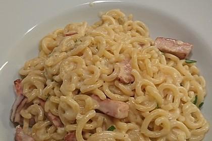 Spaghetti in Schinken-Sahne-Soße 18