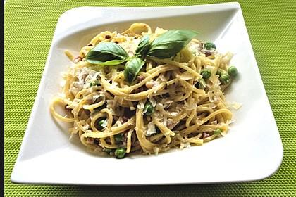 Spaghetti in Schinken-Sahne-Soße 9