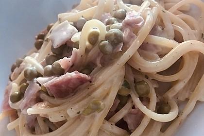 Spaghetti in Schinken-Sahne-Soße 21