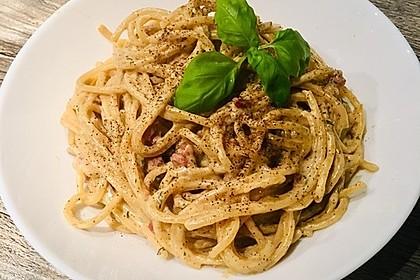 Spaghetti in Schinken-Sahne-Soße 29