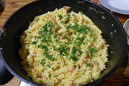 Spaghetti in Schinken-Sahne-Soße 19
