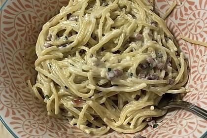 Spaghetti in Schinken-Sahne-Soße 15