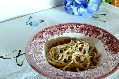Spaghetti in Schinken-Sahne-Soße 41