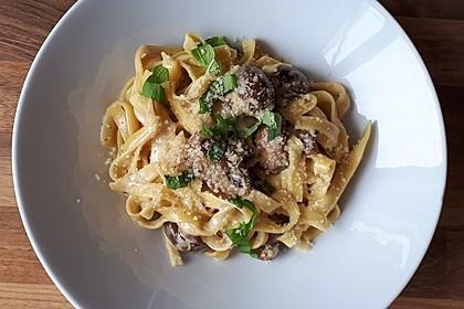 Spaghetti in Schinken-Sahne-Soße 12
