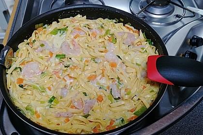 Spaghetti in Schinken-Sahne-Soße 48