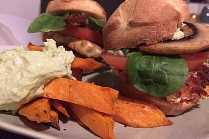 Vegetarischer Miniburger - Sonntagsbrötchen mal anders (Bild)