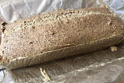 Low-Carb Brot mit Sojamehl und Flohsamenschalen 1