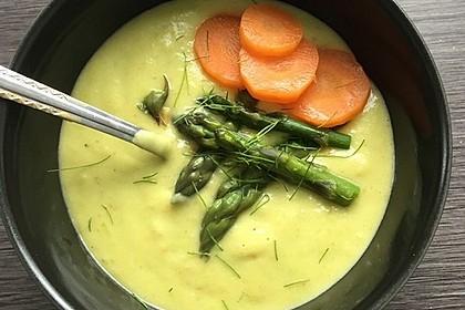 Kartoffel-Spargelcreme-Suppe 2