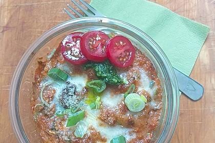 Überbackene Gnocchi mit Gemüse
