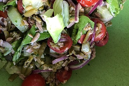 Pinsettes Salade Niçoise 1
