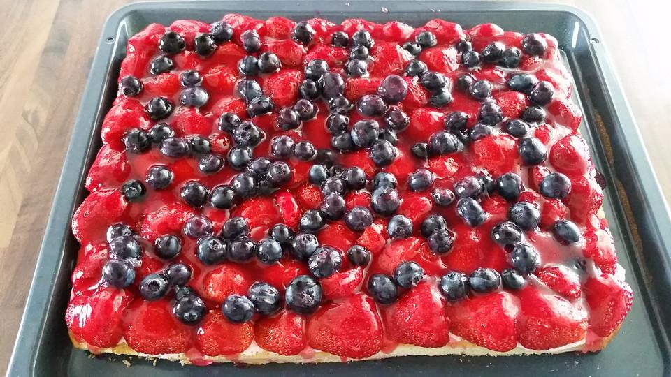 Obstkuchen Vom Blech Mit Dinkelmehl Von Vitality13 Chefkoch De
