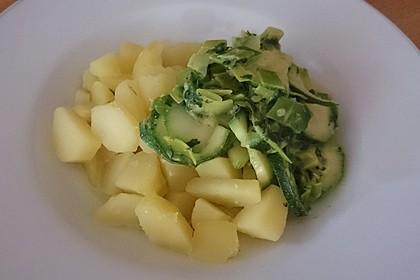 Kartoffeln mit Grün