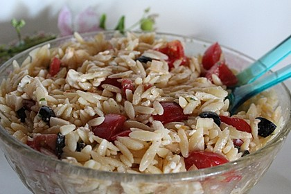 Kritharaki-Salat (Bild)