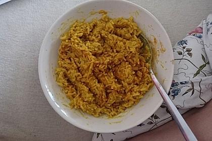 Curryreis mit Linsen im Instant-Pot