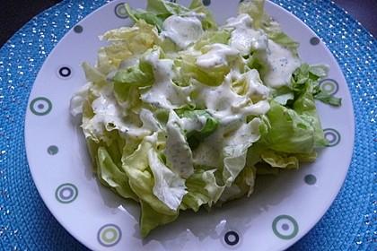 Salatdressing - passt zu fast allen grünen Salaten 2