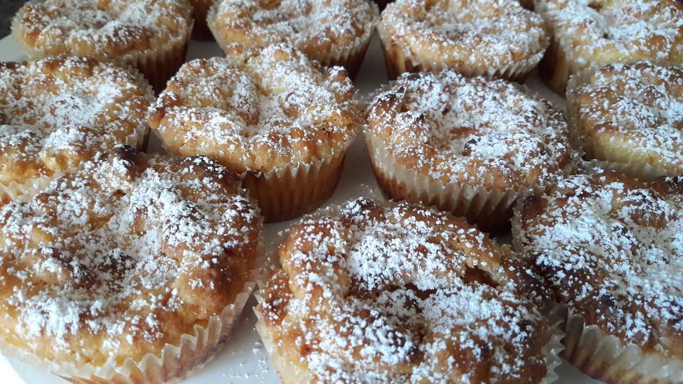 Kasekuchen Streusel Muffins Von Hexenbackstube Chefkoch De