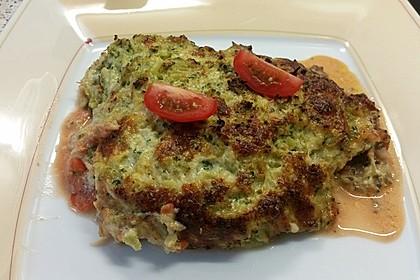 Seelachsfilet mit Brokkoli-Käse-Haube 1