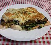 Seelachsfilet mit Brokkoli-Käse-Haube (Bild)