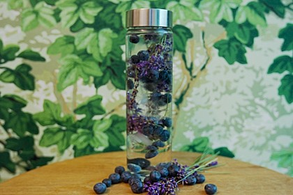Blaubeer-Lavendel-Wasser 1