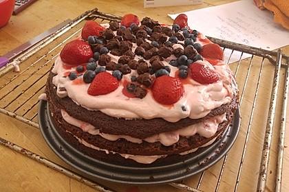 Naked Cake Beerentorte 5