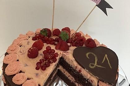 Naked Cake Beerentorte 1
