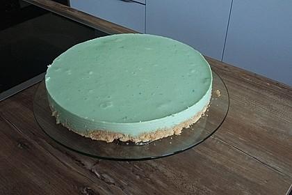 Waldmeister-Philadelphia-Torte