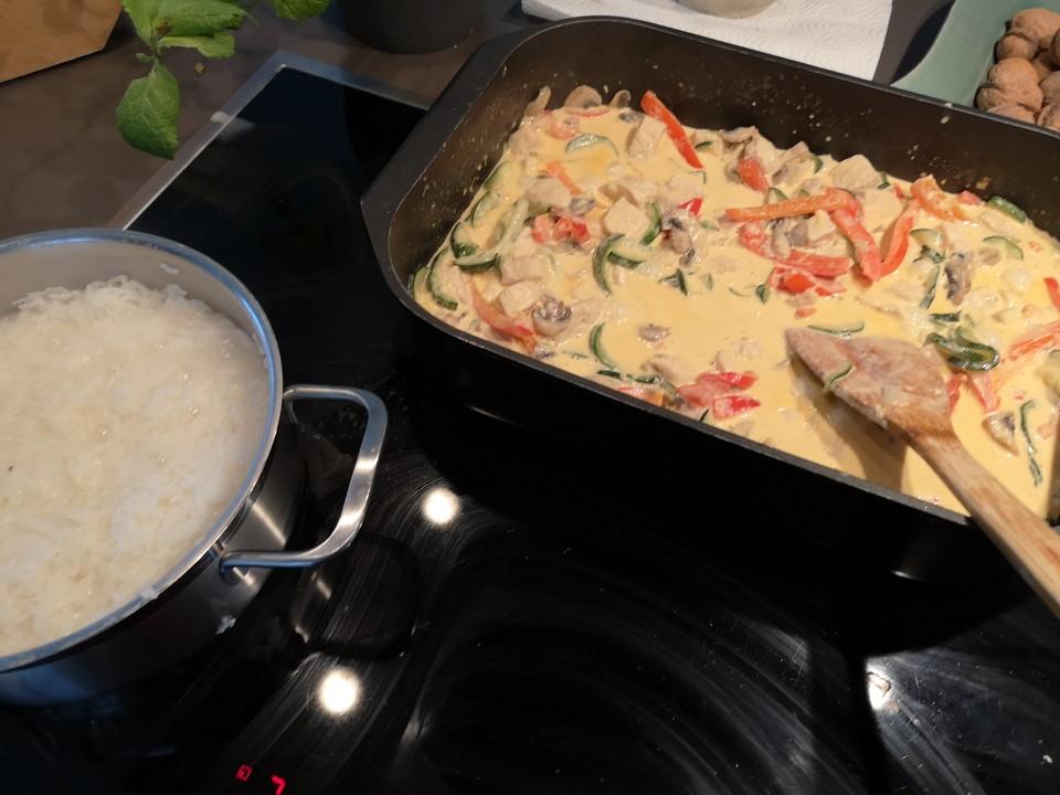 Sommerküche Low Carb : Schnelle low carb puten gemüse pfanne von küchen zauber chefkoch