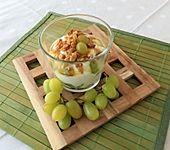 Weintrauben Knusper Dessert