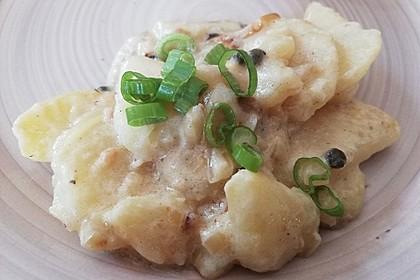 Pikante Weinkartoffeln mit Zwiebeln (Bild)