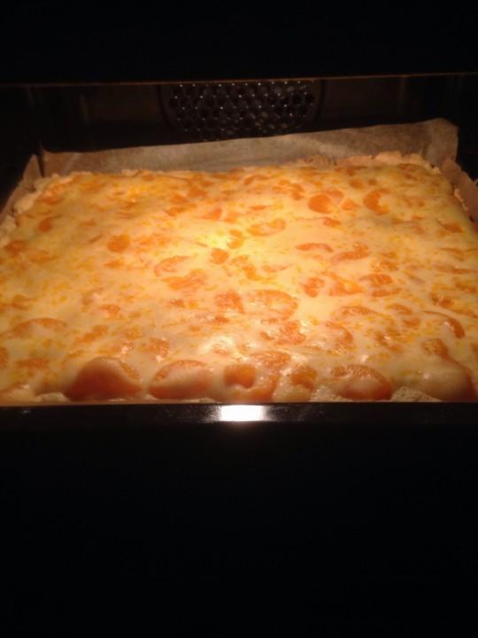 Mandarinen Schmand Kuchen Vom Blech Von Sahnefee79 Chefkoch De