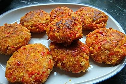 Vegane Gemüse-Tofu-Frikadellen