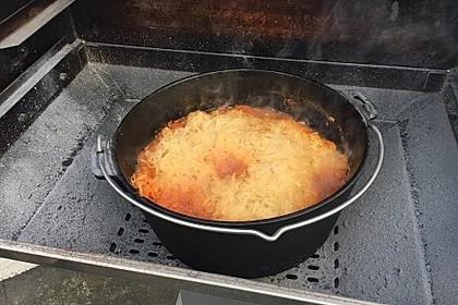Kasseler und Schweinefleisch mit Sauerkraut