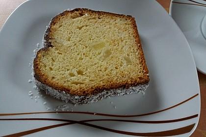 Piña Colada-Kuchen mit Schoko-Kokos-Guss