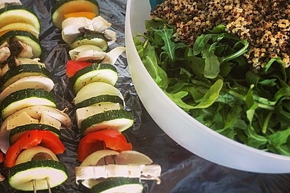 Rucola-Quinoa-Salat (Bild)