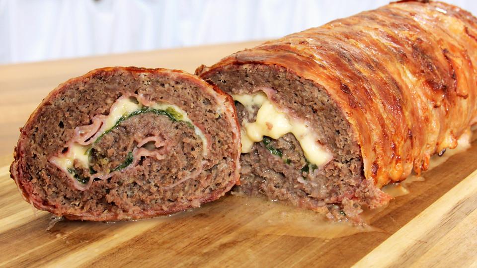 Hackfleisch Bacon Käse Rolle Von Mealclub Chefkochde