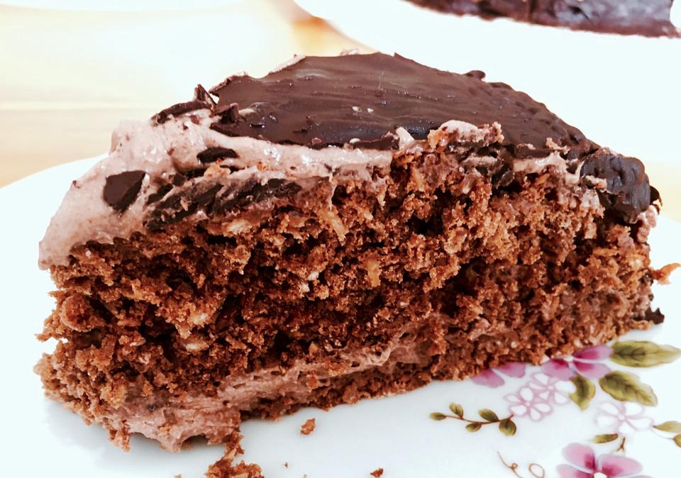Schoko Kokos Torte Von Cakessake Chefkoch De
