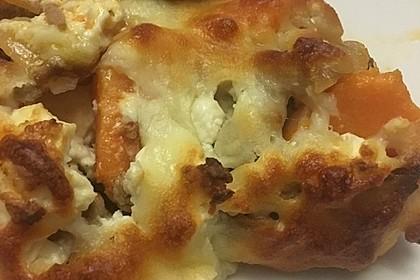 Süßkartoffel-Hackfleisch-Auflauf mit Feta 4