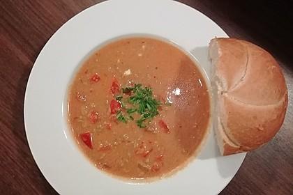 Paprika-Hackfleisch-Suppe mit Feta 7