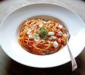 One Pot Pasta Tomate-Mozzarella (Bild)