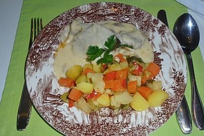 Kartoffel-Karotten-Paprika-Sellerie-Gemüse mit Lauchzwiebeln 1