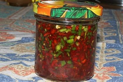 In Honig eingelegte Chili 1