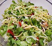 Gemischter Salat mit Zitronendressing (Bild)