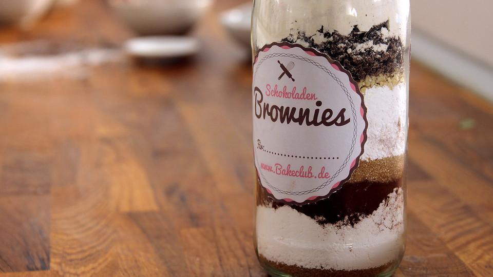 Brownie Backmischung Im Glas Von Bakeclubofficial Chefkoch