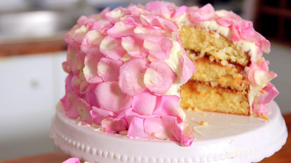 Rosen Karamell Torte Von Bakeclub Official Chefkoch De