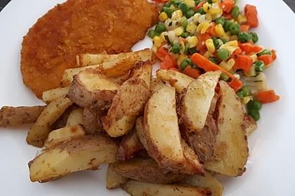 Parmesan-Knoblauch-Kartoffelecken 1