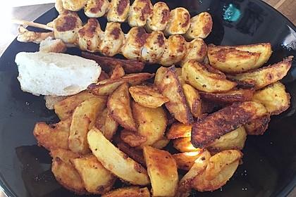 Parmesan-Knoblauch-Kartoffelecken 2