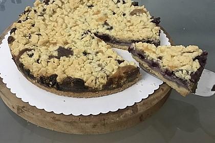 Himbeer-Pudding-Streuselkuchen